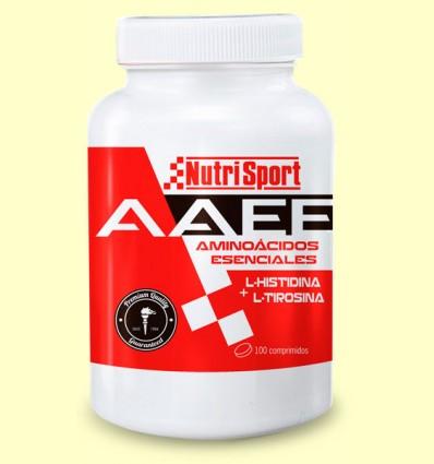 Aminoácidos Esenciales AAEE - NutriSport - 100 comprimidos