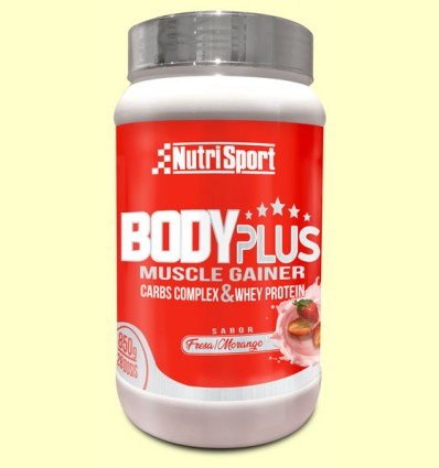 Body Plus Fresa - Nutrisport - 850 gramos
