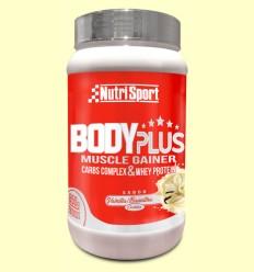 Body Plus Vainilla - Nutrisport - 850 gramos