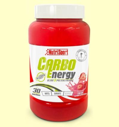 Carbo Energy Fresa - Oligosacaridos - NutriSport - 1650 gramos