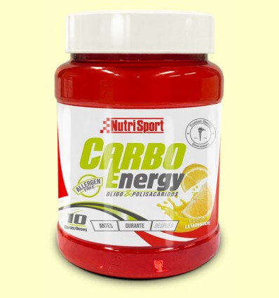Carbo Energy Limón - Oligosacaridos - NutriSport - 550 gramos