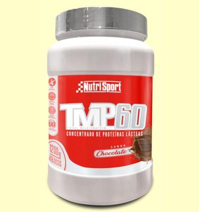TMP 60 Chocolate - Nutrisport - 1200 gramos
