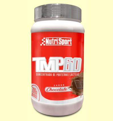 TMP 60 Chocolate - Nutrisport - 700 gramos