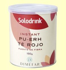 Solodrink Té rojo Pu-erh - Laboratorios Dimefar - 150 gramos