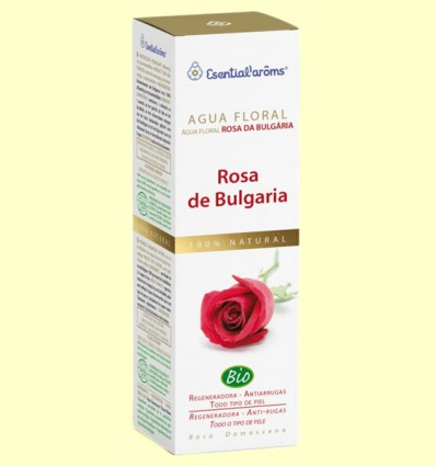 Agua Floral de Rosa de Bulgaria - Esential'arôms - 100 ml