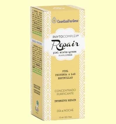 Phytocomplex Repair - Sérum Piel Mixta y Grasa - Esential Aroms - 15 ml