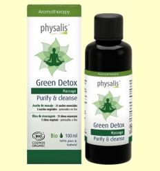 Green Detox - Aceite de masaje - Physalis - 100 ml