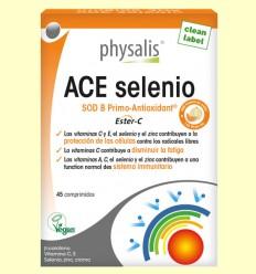 ACE selenio - Vitaminas - Physalis - 45 comprimidos