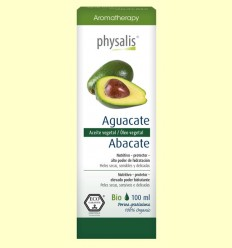 Aguacate Bio - Aceite vegetal - Physalis - 100 ml