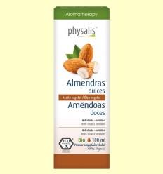 Almendras Dulces Bio - Aceite vegetal - Physalis - 100 ml