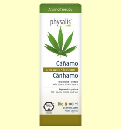 Cáñamo Bio - Aceite vegetal - Physalis - 100 ml