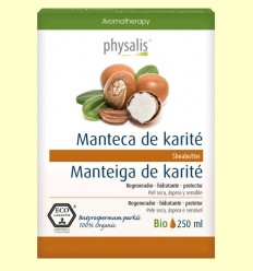 Manteca de Karité Bio - Aceite vegetal - Physalis - 250 ml