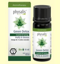 Aceite Esencial Green Detox Bio - Aceite vegetal - Physalis - 10 ml