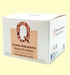 Crema Hidratante Quinoa Ecológico - Van Horts - 50 ml