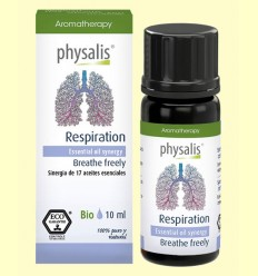 Aceite Esencial Respiration Bio - Aceite vegetal - Physalis - 10 ml