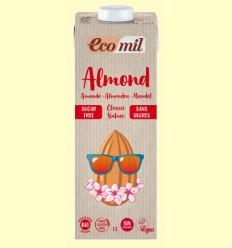 Almond Classic Nature Sin Azúcar Bio - EcoMil - 1 litro