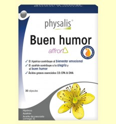 Buen Humor - Aceite de pescado - Physalis - 30 cápsulas