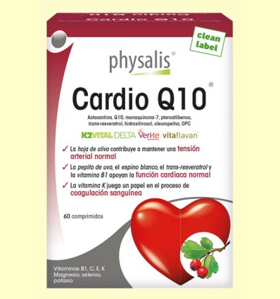 Cardio Q10 - Physalis - 60 comprimidos