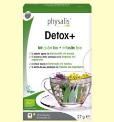 Detox+ Infusión Bio - Physalis - 20 infusiones
