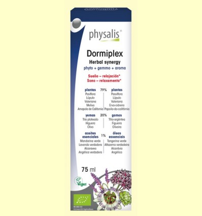 Dormiplex Bio - Physalis - 75 ml