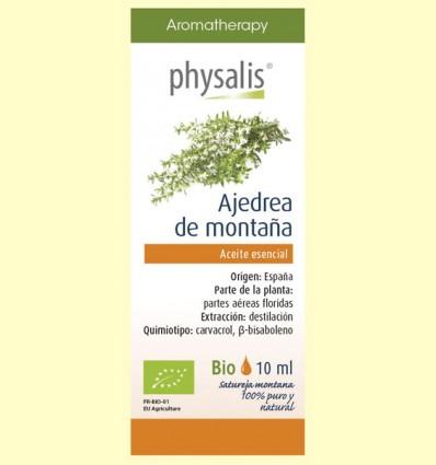 Aceite Esencial Ajedrea de Montaña Bio - Physalis - 10 ml