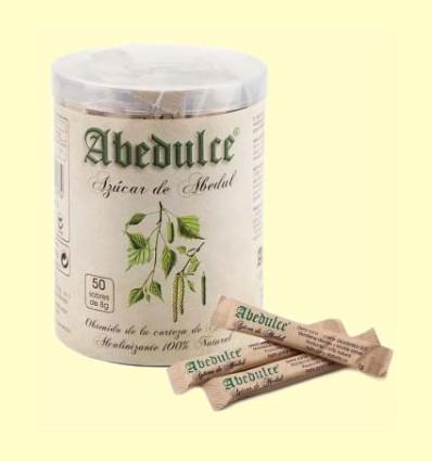 Azúcar Corteza Abedul Sticks - Abedulce - 50 sobres