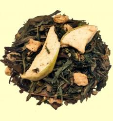 Té Verde aromatizado con Jengibre y Manzana