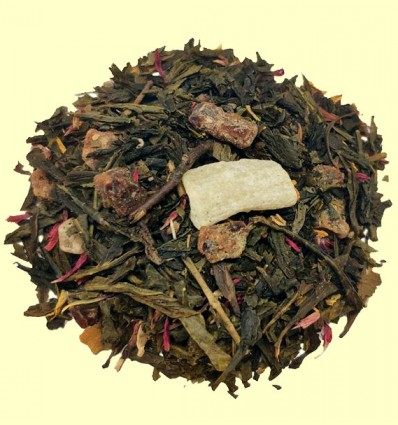 Té Verde con Aloe Vera y Granada aromatizado
