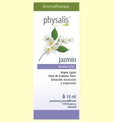 Aceite Absoluto 5% Jazmín Bio - Physalis - 10 ml
