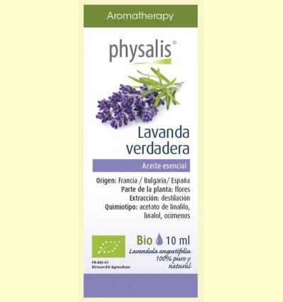 Aceite Esencial Lavanda Verdadera Bio - Physalis - 10 ml