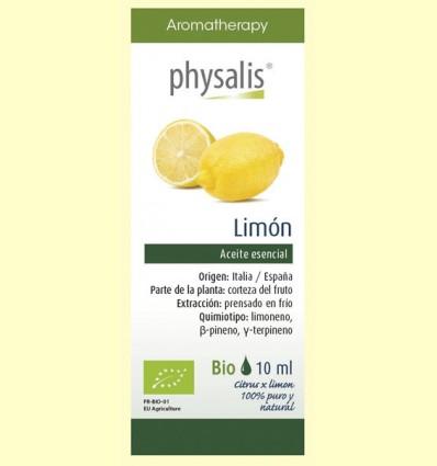 Aceite Esencial Limón Bio - Physalis - 10 ml