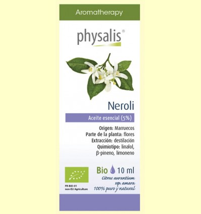 Aceite Esencial Neroli Bio - Physalis - 10 ml