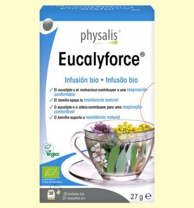 Eucalyforce Infusión Bio - Physalis - 20 infusiones