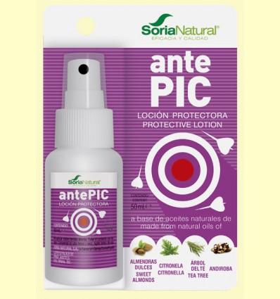 AntePIC Loción Protectora Picadas - Soria Natural - 50 ml