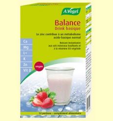 Balance Base Drink - Bebida Alcalina Instantánea - A.Vogel - 14 sticks