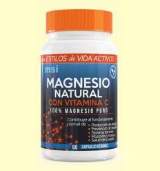 Magnesio Sport 100% natural - MSI - 60 cápsulas