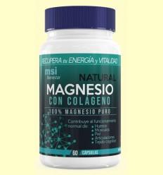Magnesio Bienestar Natural con Colágeno - MSI - 60 cápsulas