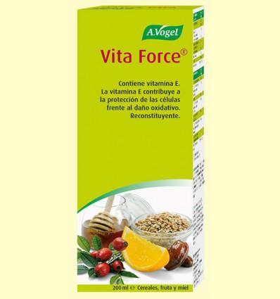 VitaForce - Tónico y Energético - A. Vogel - 200 ml