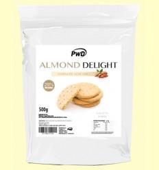 Almond Delight - Harina de Almendra Sabor Galleta María - PWD - 500 gramos