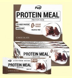 Protein Meal - Barritas Proteicas sabor Chocolate - PWD - 12 barritas