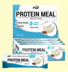 Protein Meal - Barritas Proteicas sabor Yogurt - PWD - 12 barritas