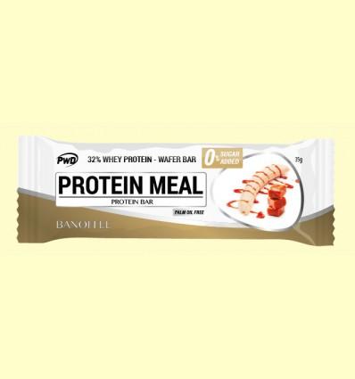 Protein Meal - Barritas Proteicas sabor Banoffee - PWD - 1 barrita