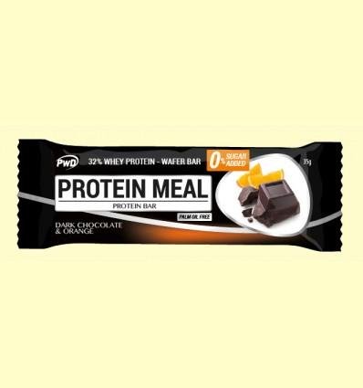 Protein Meal - Barritas Proteicas sabor Chocolate y Naranja - PWD - 1 barrita