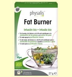 Fat Burner Infusión Bio - Physalis - 20 filtros