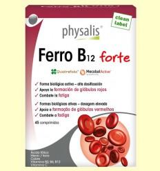 Ferro B12 Forte Bio - Physalis - 45 comprimidos