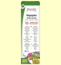 Hepaplex Herbal Synergy Bio - Physalis - 75 ml