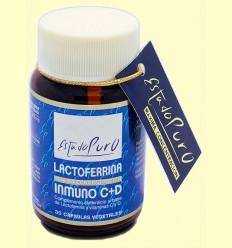 Lactoferrina Inmuno C y D Estado Puro - Tongil - 30 cápsulas