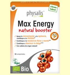 Max Energy Bio - Physalis - 30 comprimidos