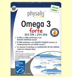 Omega 3 Forte - Physalis - 60 cápsulas