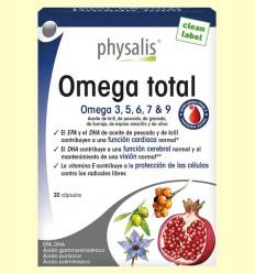 Omega Total - Physalis - 30 cápsulas